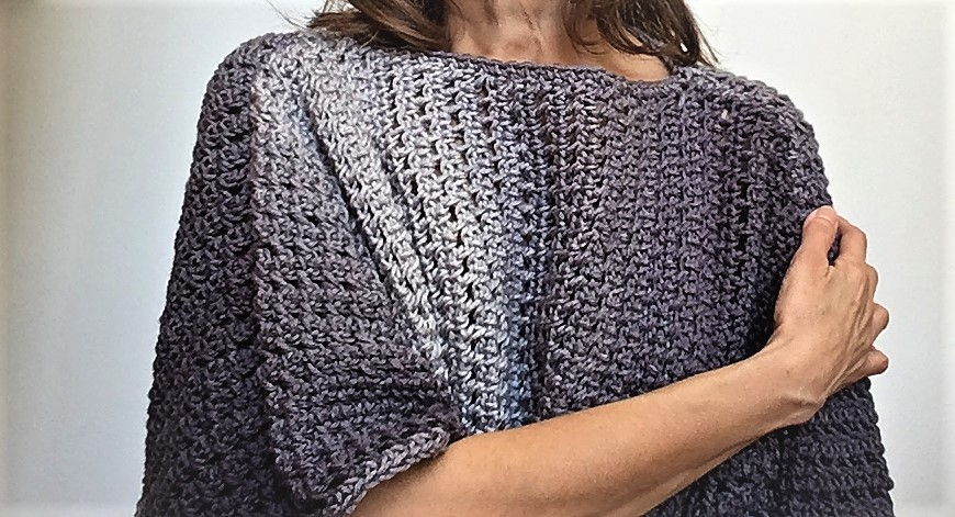 Cozy Oversize Ombre Sweater - Crazy Cool Crochet