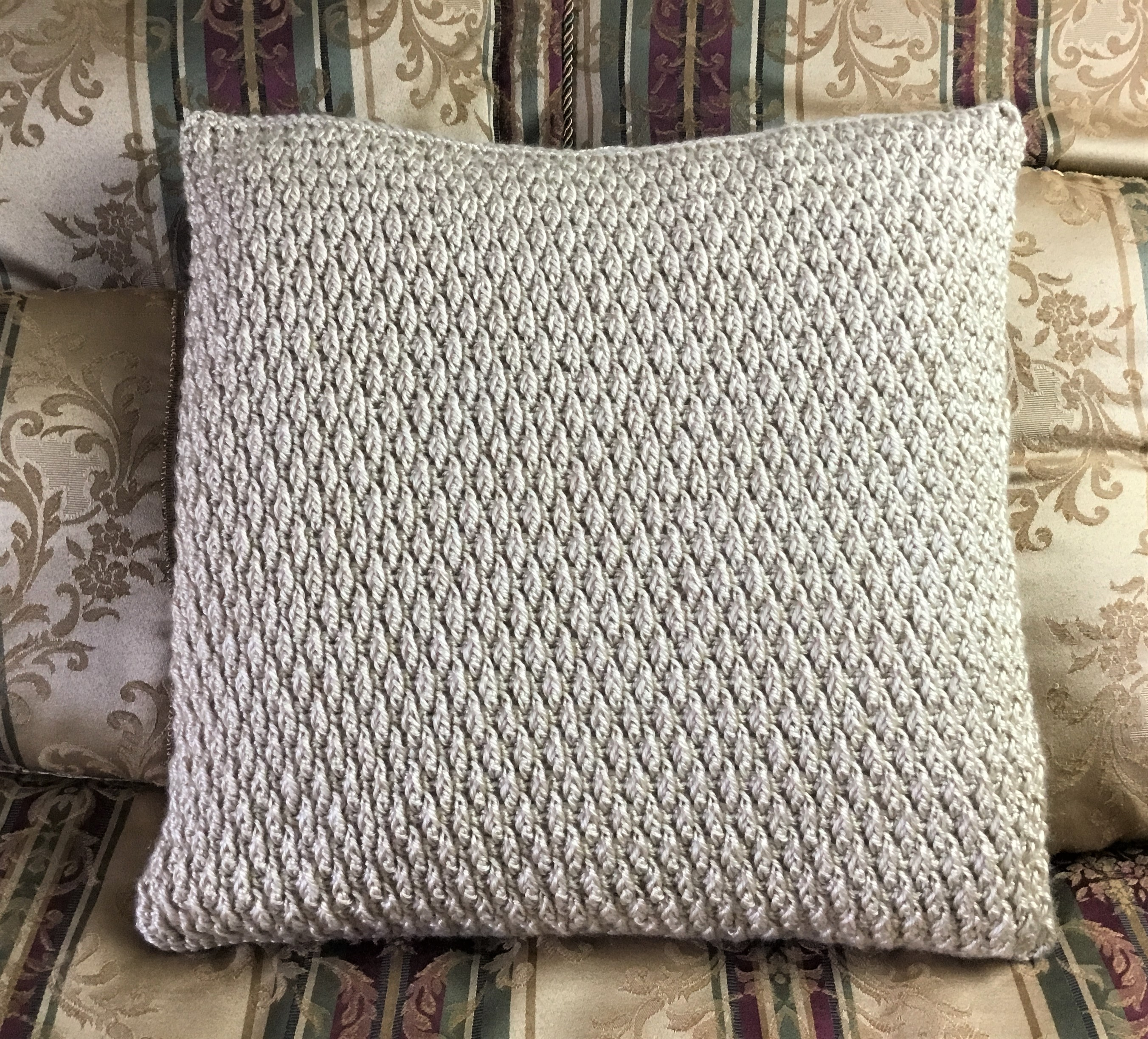 Free Crochet Pillow Cover Pattern
